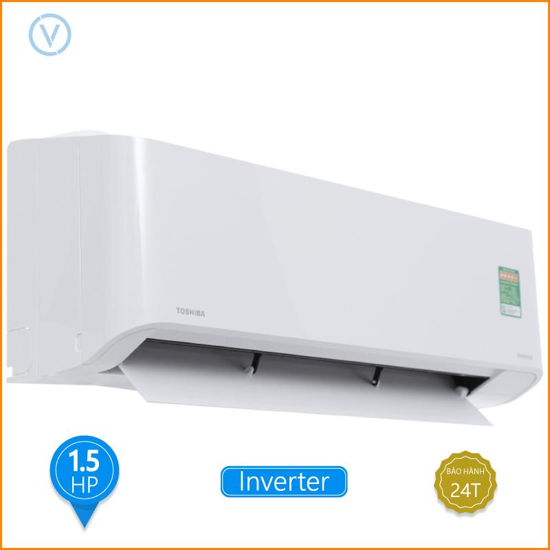 Máy lạnh Toshiba Inverter 1.5 HP RAS H13PKCVG V Dien May Dai Viet