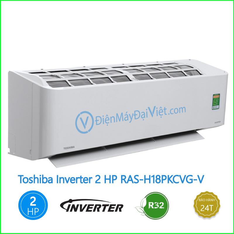 Máy lạnh Toshiba Inverter 2 HP RAS H18PKCVG V