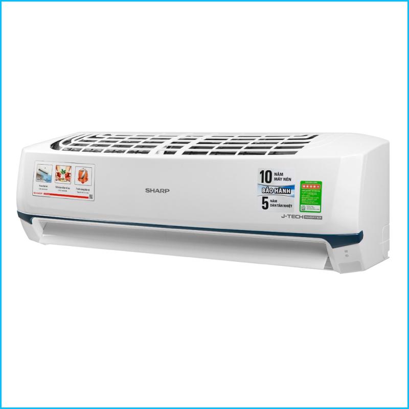 May lanh Sharp Inverter 2 HP AH X18XEW Chinh Hang