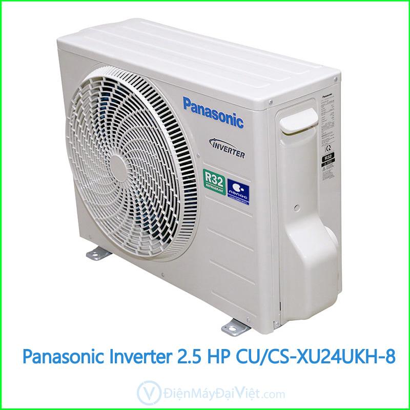Panasonic Inverter 2.5 HP CUCS XU24UKH 8 2