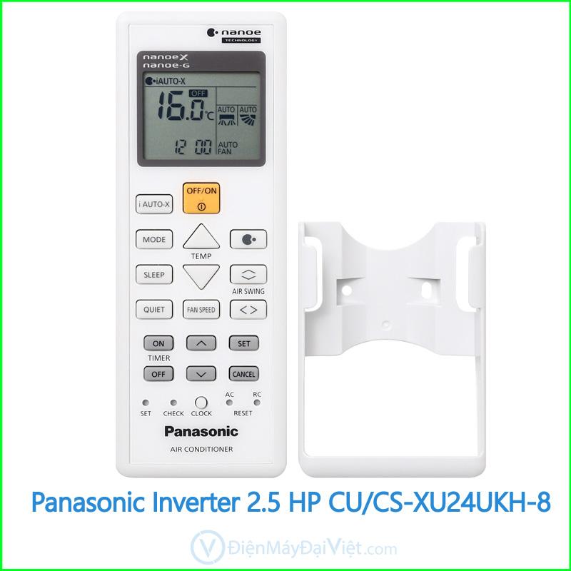 Panasonic Inverter 2.5 HP CUCS XU24UKH 8 3