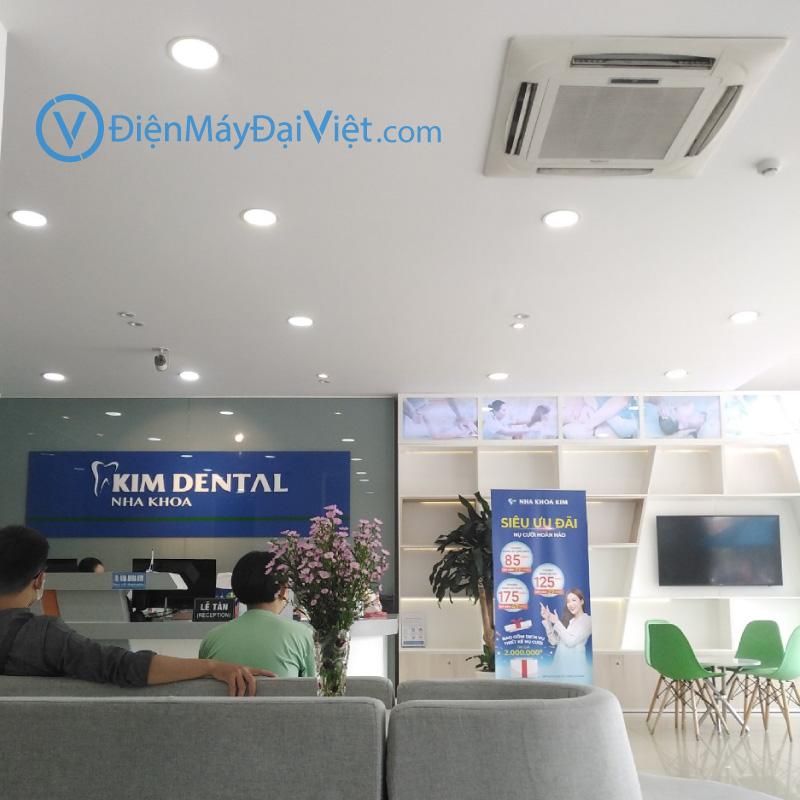 Du an may lanh nha khoa Kim Dental Go Vap