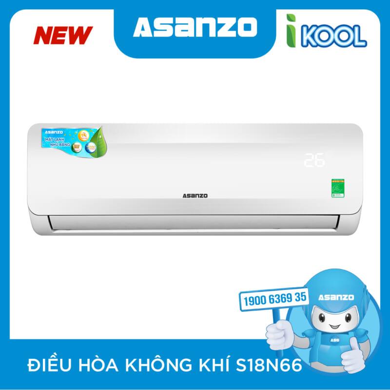 May Lanh Asanzo 2HP S18N66 GAS 410 2020 Chinh Hang