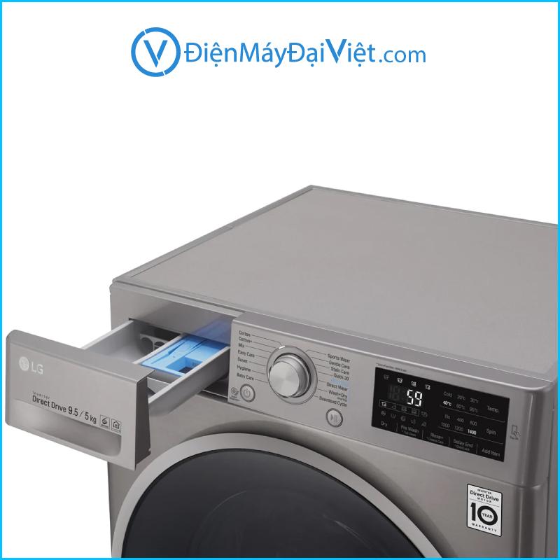 May giat LG Inverter 9 kg FC1409D4E Chinh Hang 3