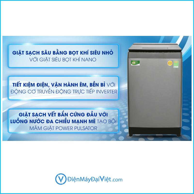 May giat Toshiba Inverter 10 kg DUH1100GV