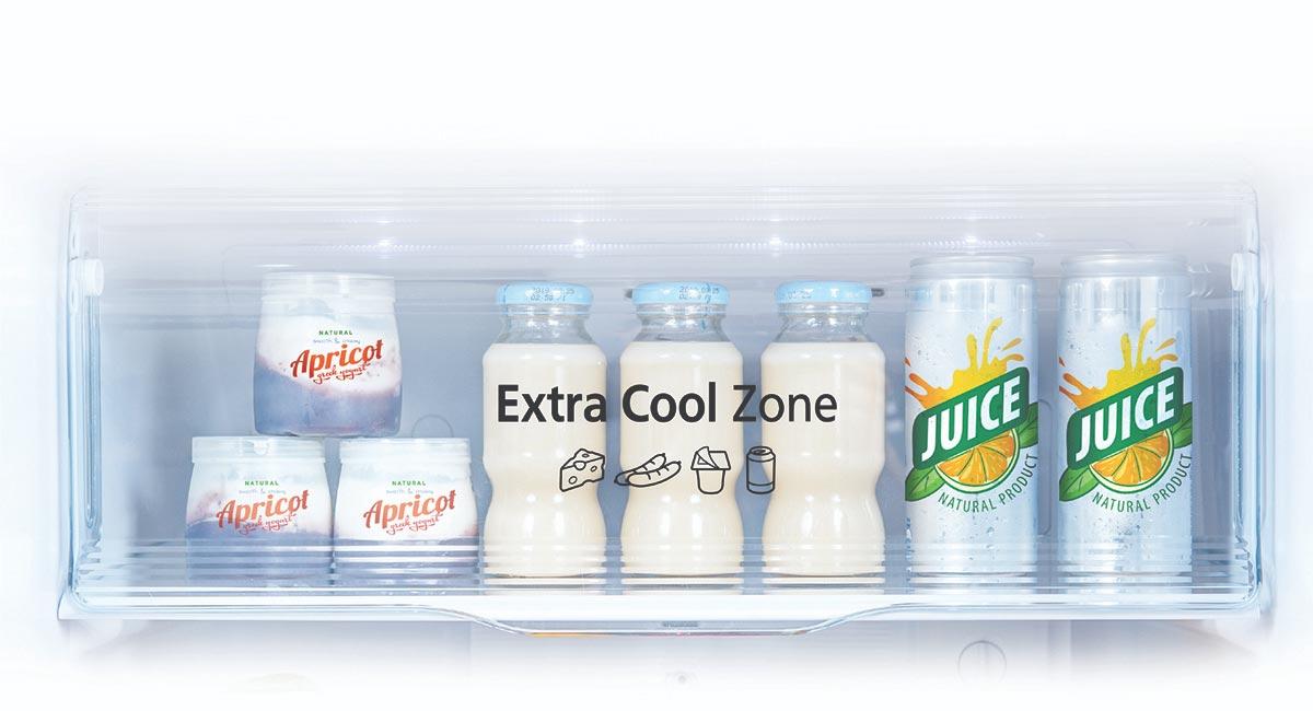 Khay extra cool zone tu lanh panasonic
