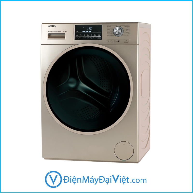 May giat Aqua Inverter 9.5 kg AQD D950E N Chinh Hang