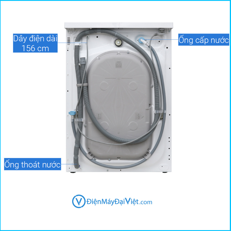 May giat Electrolux Inverter 9 Kg EWF9025 6