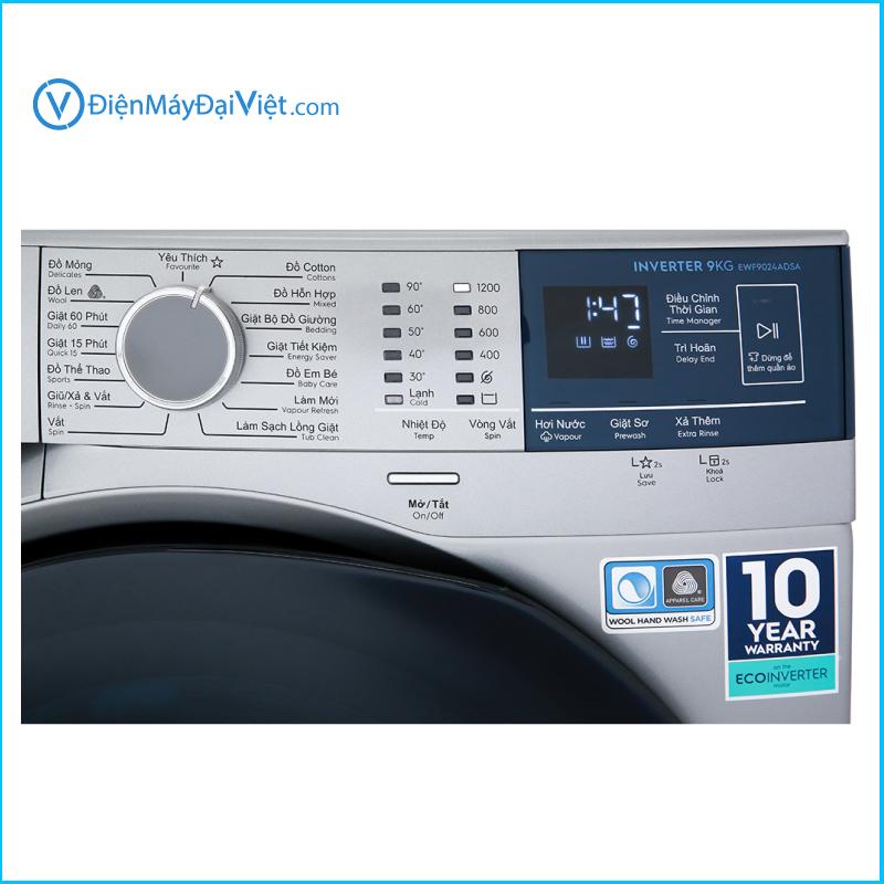May giat Electrolux Inverter 9 kg EWF9024ADSA 4