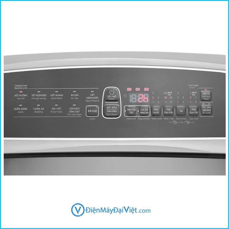 May giat Samsung Inverter 9 kg WA90T5260BYSV 3