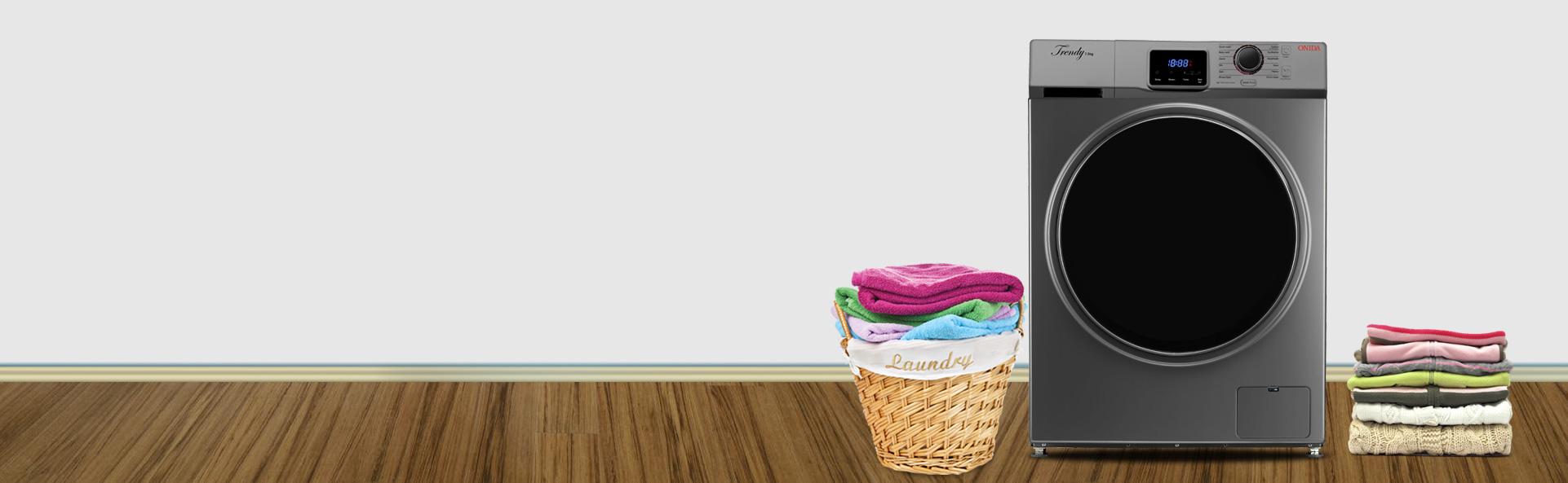 Máy giặt banner