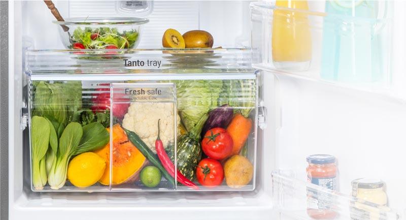 Ngăn rau tủ lạnh panasonic nr-bl263pkvn