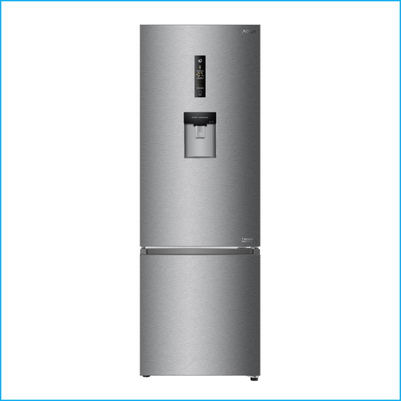 Tu lanh Aqua Inverter 350 lit AQR IW378EB SW Chinh Hang