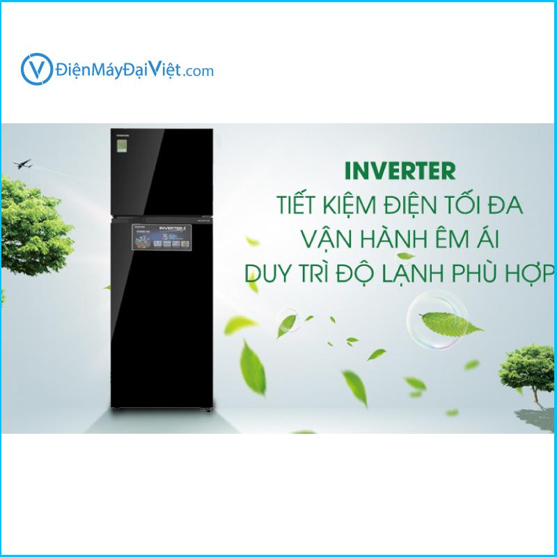 Tu lanh Toshiba Inverter 330 lit GR AG39VUBZ XK