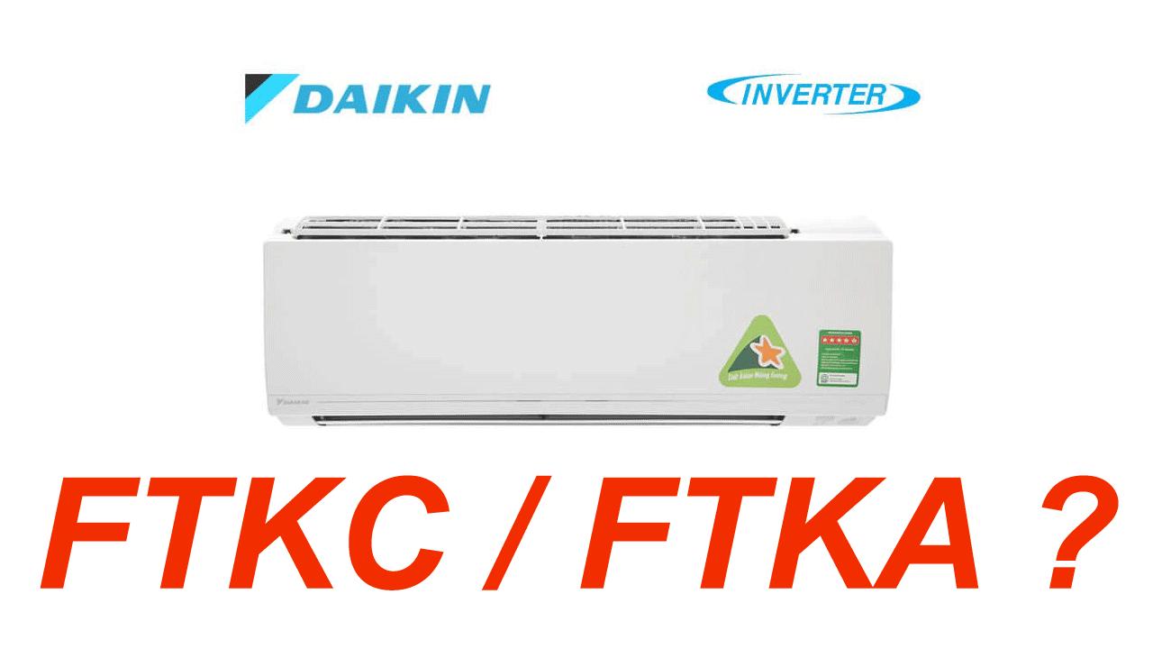 Su Khac Nhau Giua Dong May Lanh Daikin FTKC va FTKA