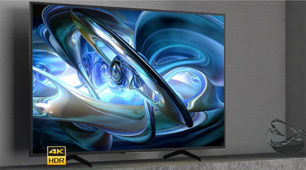 Smart Tivi Sony 4K 55 Inch chan de hinh chu V