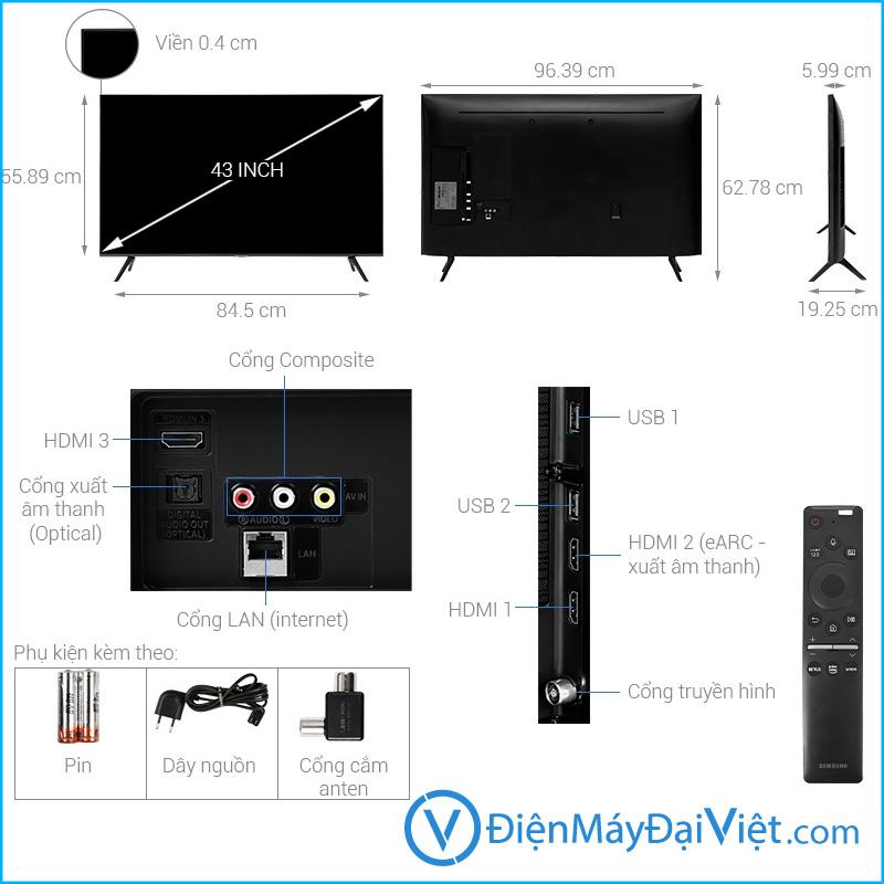 Tivi Samsung 4K 43 inch