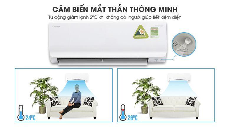May Lanh Daikin Inverter 2.5 HP FTKC60UAVMV 4